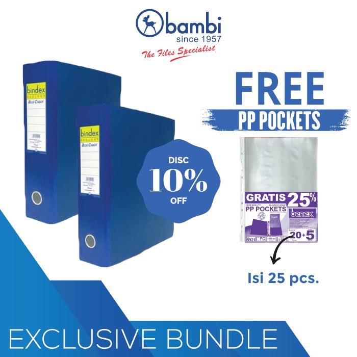 Paket Hemat Bindex 727 + Free PP Pocket
