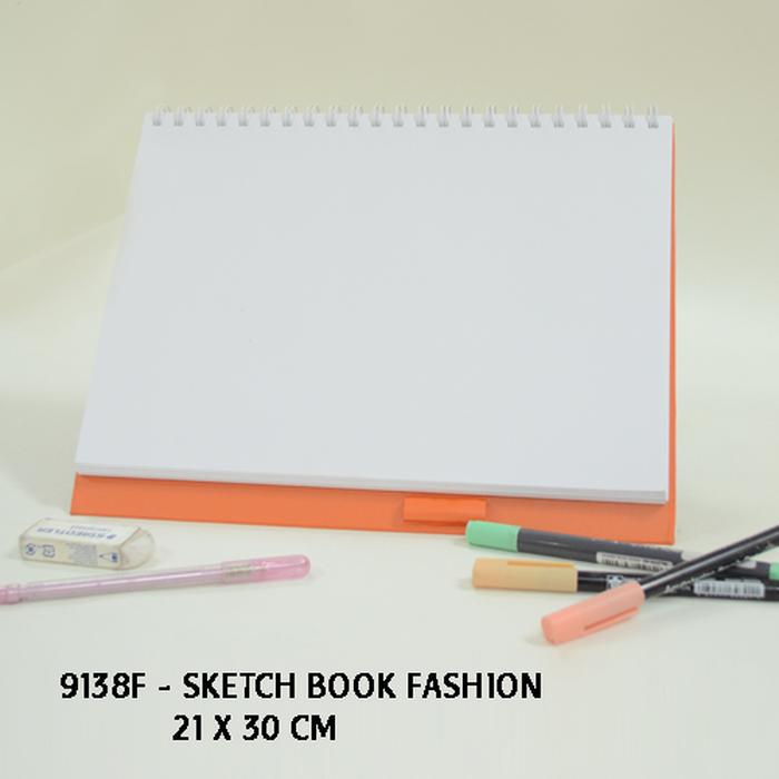 Sketch Book Fashion 9138F