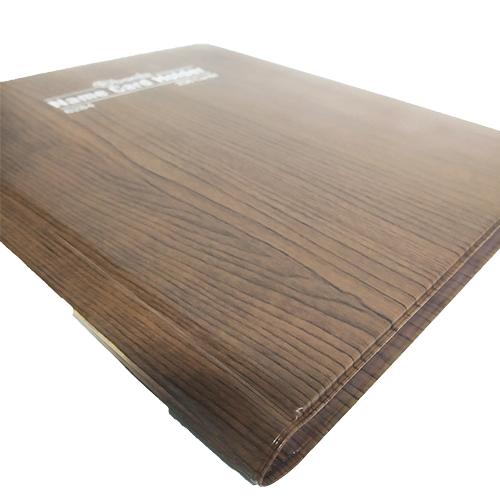 Name Card Brown Wood - 6284BW
