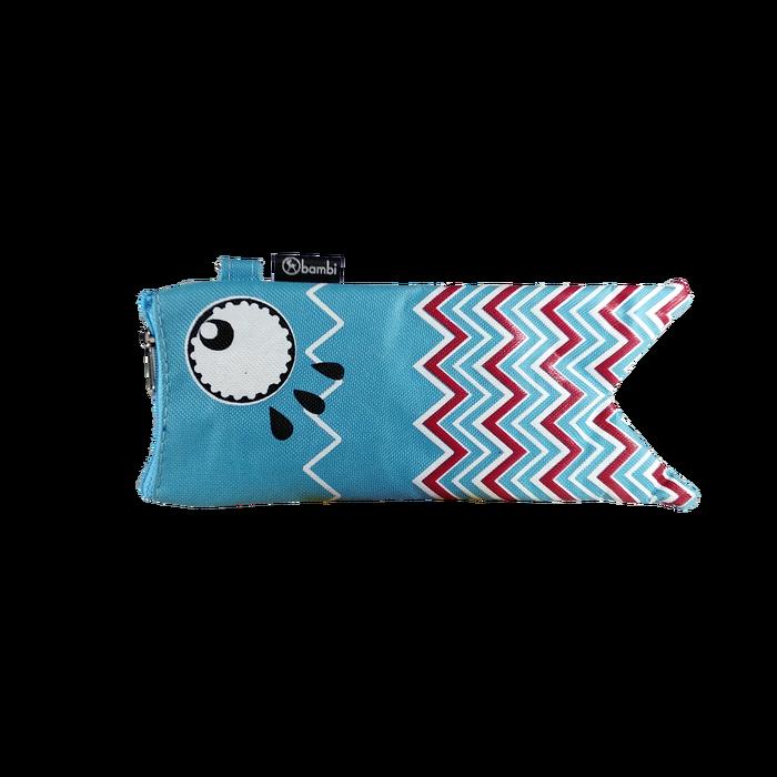 Bambi Pencil Case Fish 5749 Blue