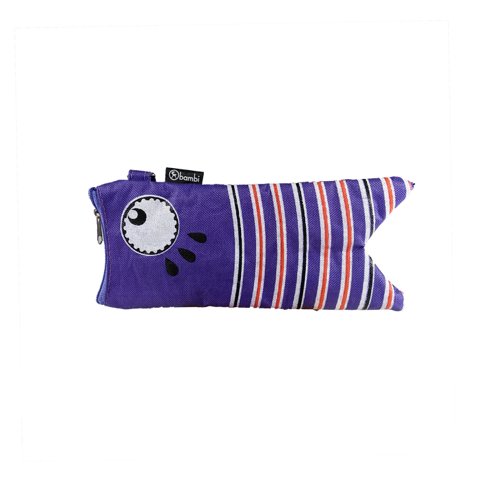 Bambi Pencil Case Fish 5749 Purple