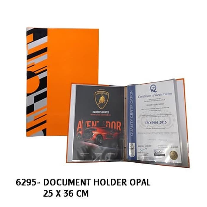 Document Holder Opal - 6295