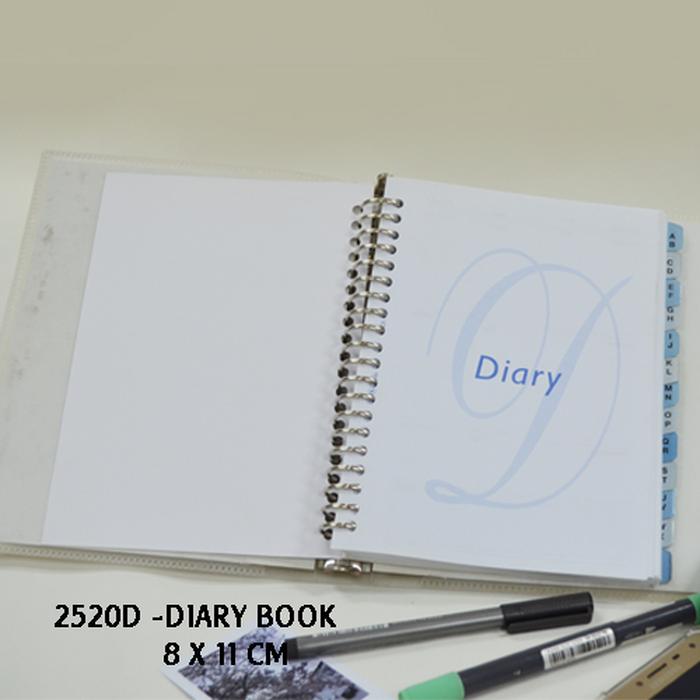 Diary Book 2520D