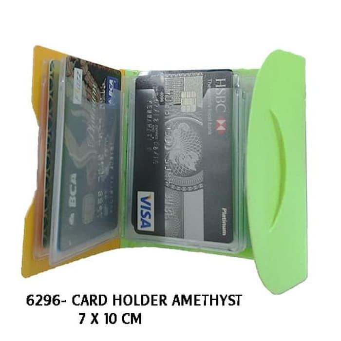 Card Holder Amethyst - 6296